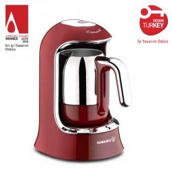 Korkmaz Kahvekolik Türk Kahvesi Makinesi Kırmızı
