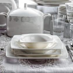 Schafer Wondel Yemek Takımı 60 Parça Beyaz-09