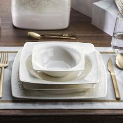 Schafer Wondel Yemek Takımı 60 Parça Beyaz(Shf7100)