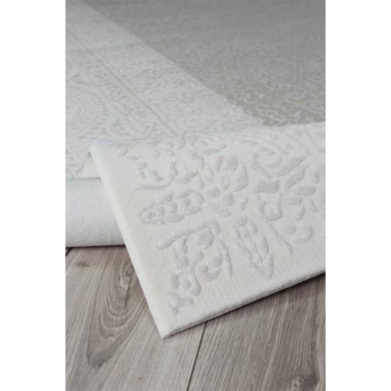 Koyunlu Arya AR015 Beyaz 150x230 cm Modern Saçaksız Halı