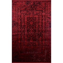 Koyunlu Tyana TY003 Bordo 160x230 cm Klasik Saçaklı Halı