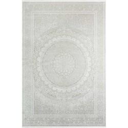 Koyunlu Tyana TY006 Kemik 160x230 cm Klasik Saçaklı Halı
