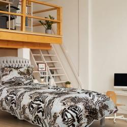 Handy Home Nubuk Tek Kişilik Çift Taraflı 150x230 cm Yatak Örtüsü Benito