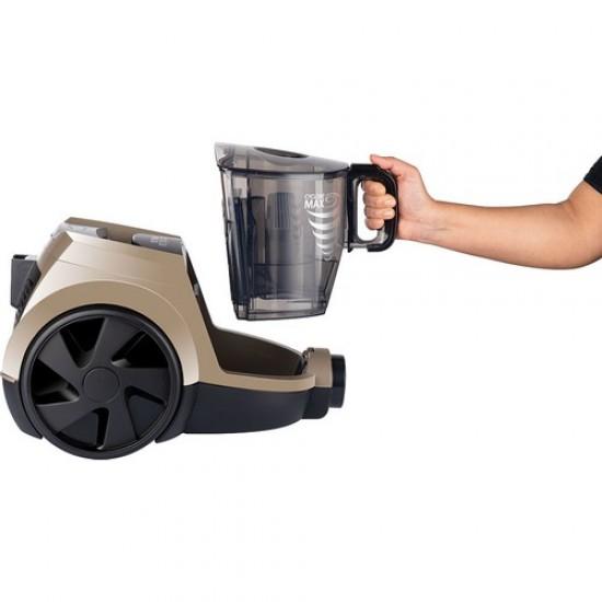 Arnica Pika Turbo Toz Torbasız Elektrikli Süpürge Karamel