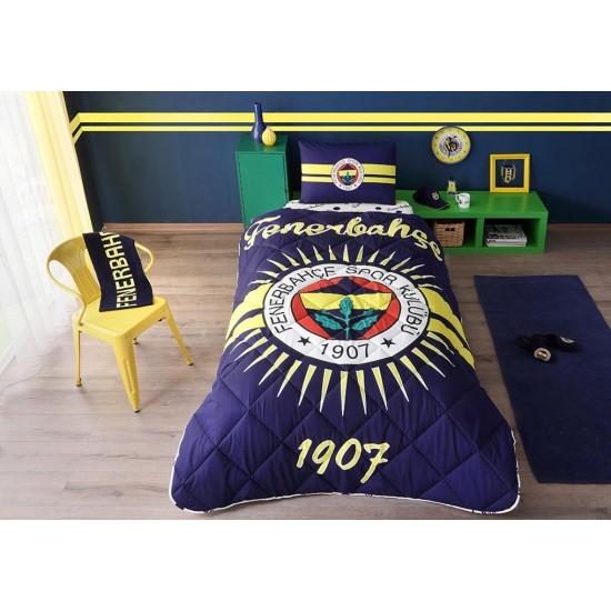 Taç Tek Kişilik Lisanslı Yorgan Seti Fenerbahçe