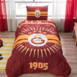 Taç Tek Kişilik Lisanslı Yorgan Seti Galatasaray