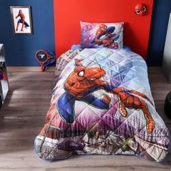 Taç Tek Kişilik Lisanslı Yorgan Seti Spiderman