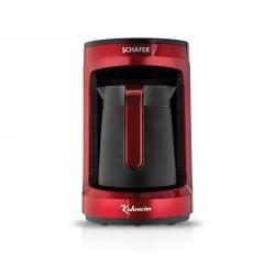 Schafer Kahvecim Otomatik Türk Kahve Makinesi Kırmızı
