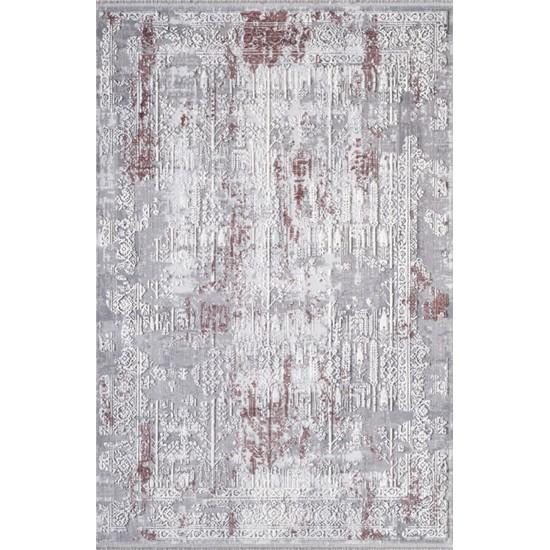Artemis Halı Dior 5856B Vişne Gri 150x233 cm Halı
