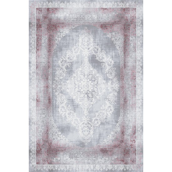 Artemis Halı Dior 5860C Vişne Gri 150x233 cm Halı