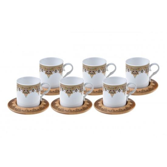 Bambum Aleris 6 Kişilik Kahve Fincan Takımı Dar