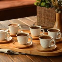 Bambum Flo 6 Kişilik Kahve Fincan Takımı