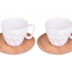 Bambum Hull 2 Kişilik Kahve Takımı