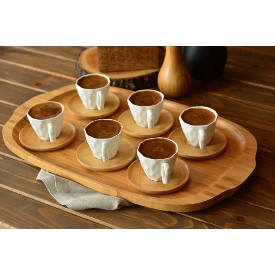 Bambum Hull 6 Kişilik Kahve Fincan Takımı