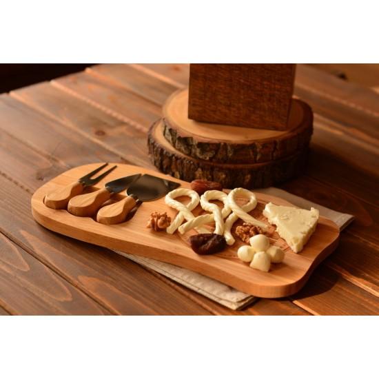 Bambum Hume 4 Parça Peynir Dünyası