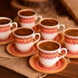 Bambum Kallavi 6 Kişilik Kahve Takımı