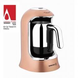 Korkmaz Kahvekolik Türk Kahvesi Makinesi Rosagold
