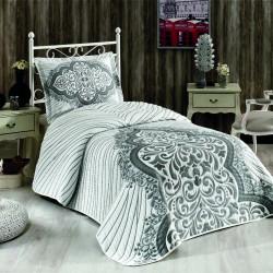 Royal Home Cover Tek Kişilik Yatak Örtüsü Flor