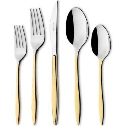 Schafer 90 Parça Çatal Kaşık Bıçak Takımı Gold