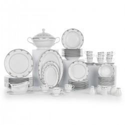 Schafer Mega Collection 85 Parça Yemek Takımı Beyaz