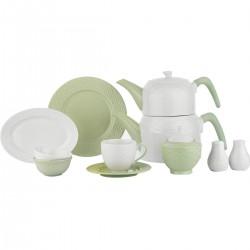 Schafer Haben Kahvaltı Takımı 32 Parça Yeşil